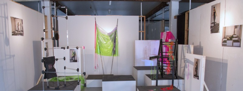 Installation view of Propositional Workshop #1